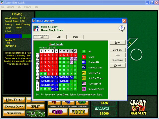 full free blackjack game download