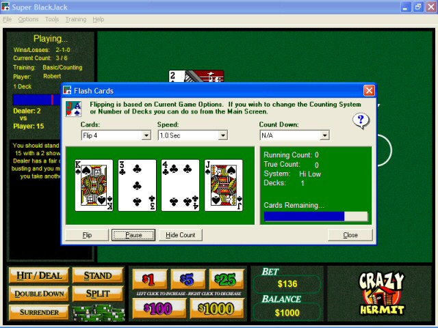 free blackjack download full version