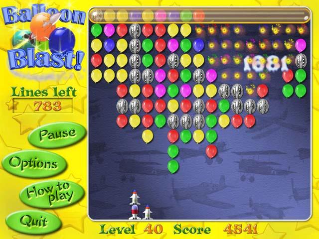 Balloon blast game free download balloon blast game for Free balloon games