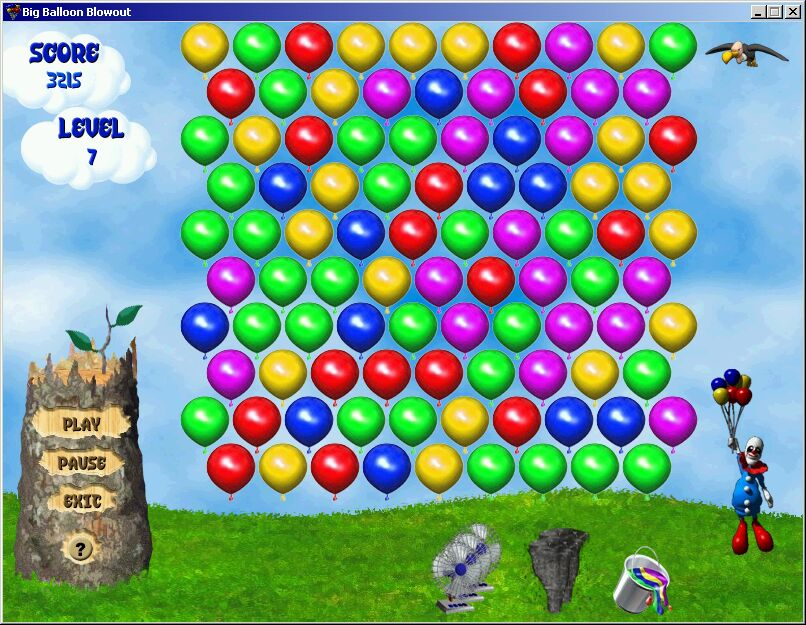 balloon games driverlayer search engine