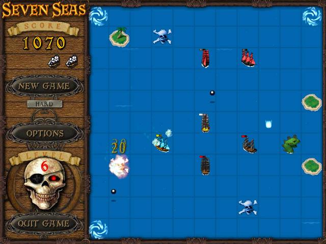 seven seas game